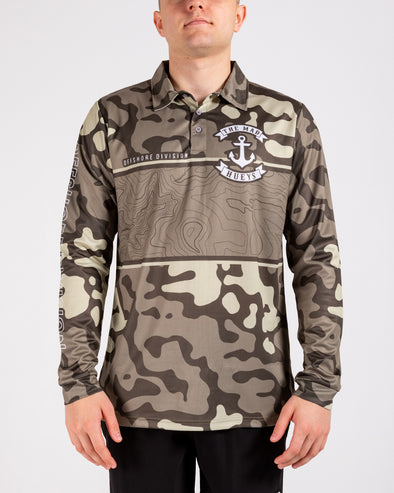 MAD MARLIN CAMO UV LS FISHING JERSEY