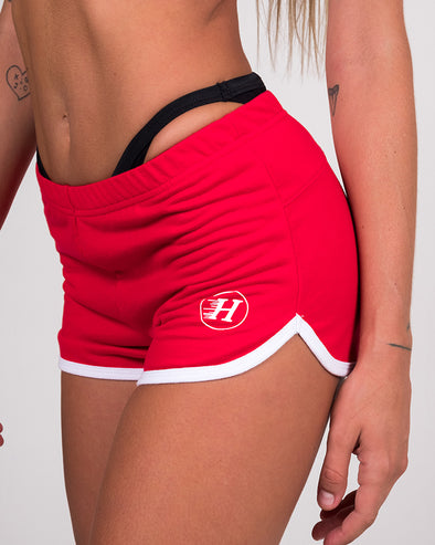 THE CJ WOMENS SHORTS - RED