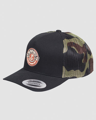 PORTSIDE TWILL TRUCKER - CAMO
