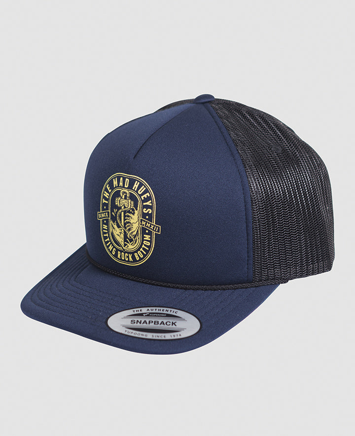 ROCK BOTTOM FOAM TRUCKER - NAVY