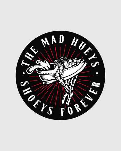 SHOEYS FOREVER STICKER - BLACK