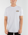 SUMMERTIME SHORT SLEEVE TEE - WHITE