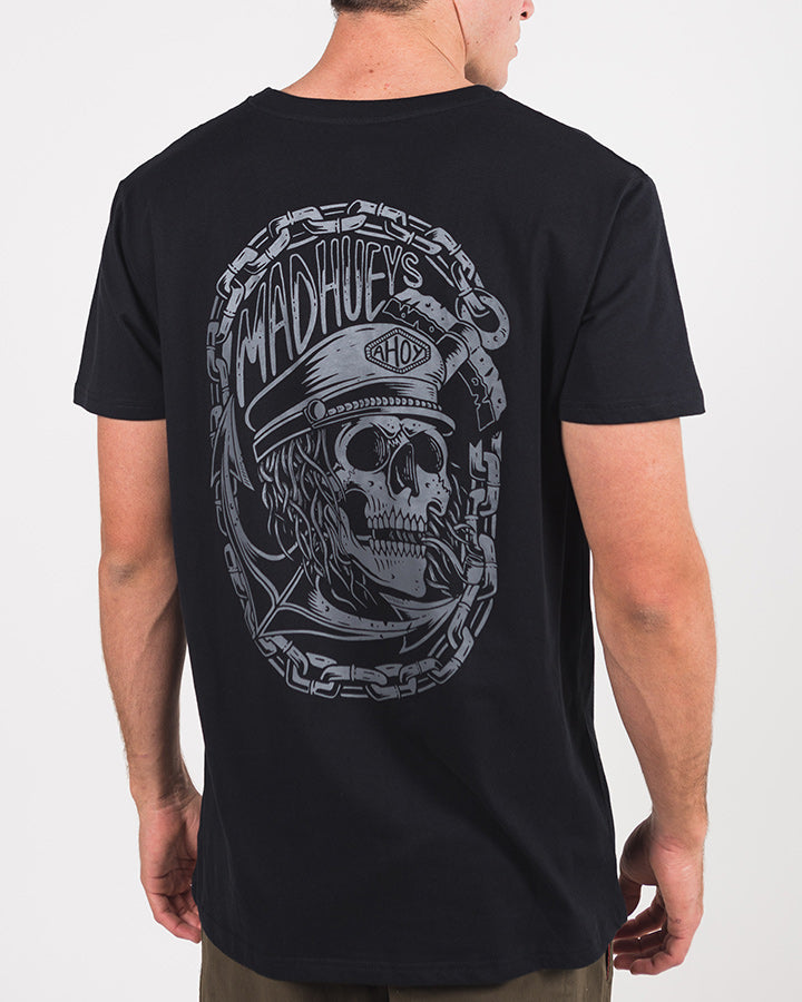 SUNKEN SHORT SLEEVE TEE - BLACK