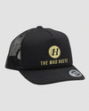 THE YOUNG BASIC FOAM TRUCKER SNAPBACK - BLACK