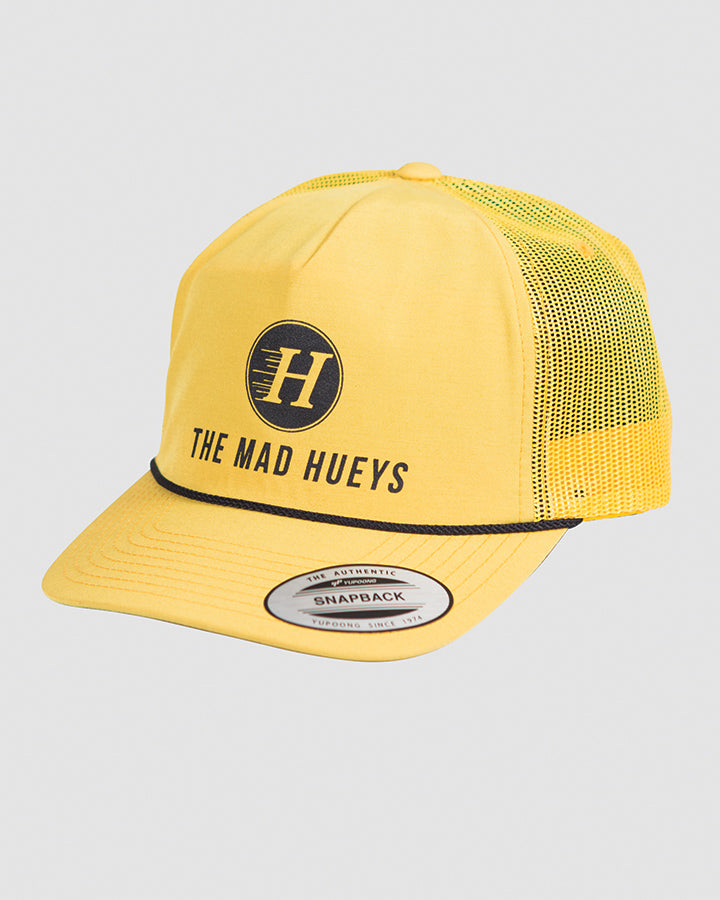THE BASIC UNSTRUCTURED TRUCKER - YELLOW