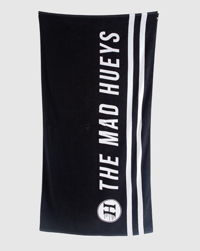 NEW LOGO TOWEL - BLACK