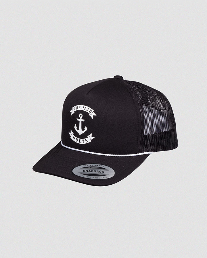 ANCHOR FOAM TRUCKER - BLACK