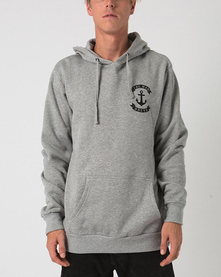 ANCHOR HOODIE GREY