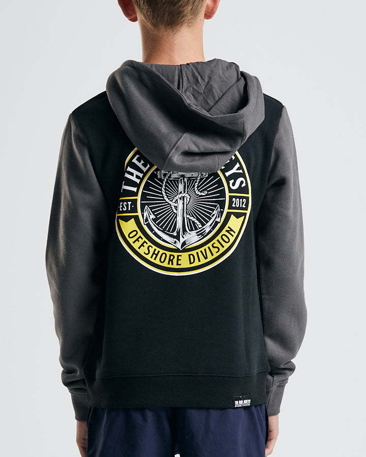 STANDARD ISSUE YOUTH PULLOVER - BLACK
