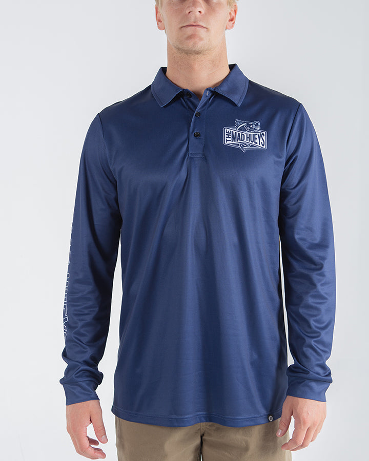 BARRADISE FISHING JERSEY -NAVY
