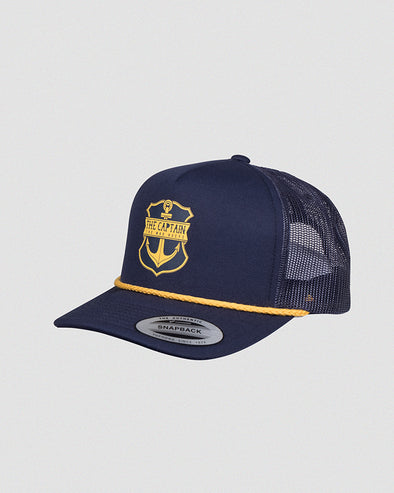 CAPTAIN FOAM TRUCKER - NAVY