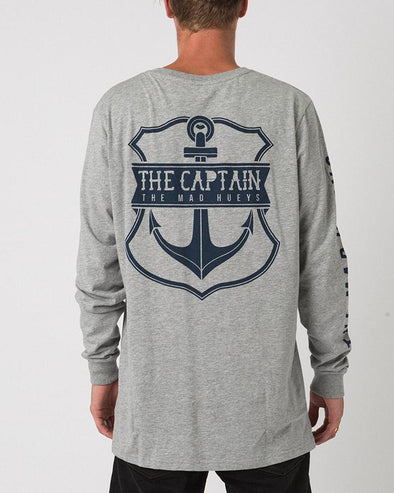 CAPTAIN LONG SLEEVE GREY