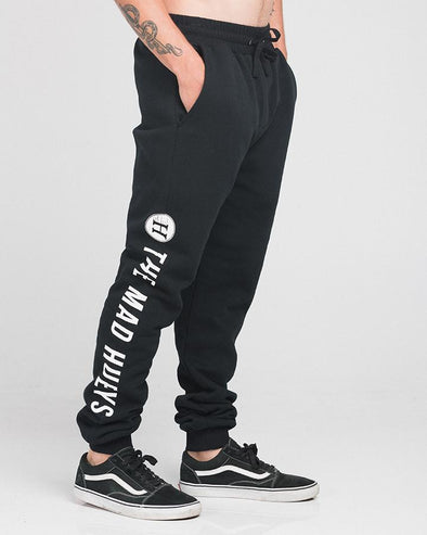 LOGO TRACKPANTS - BLACK