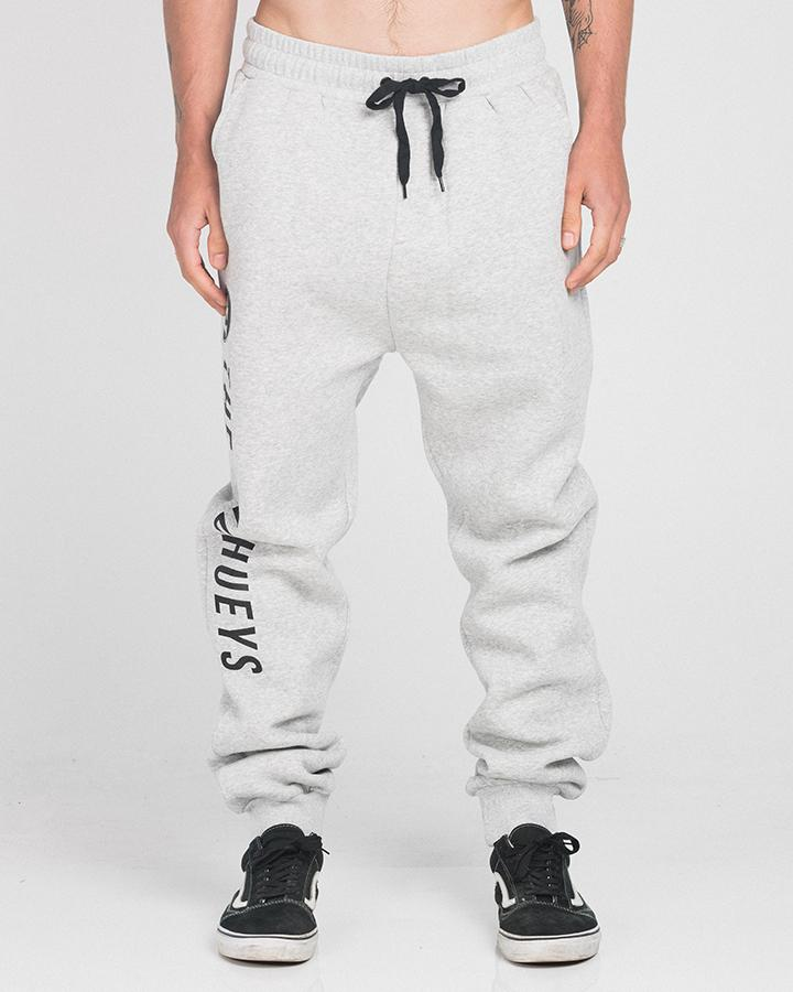 LOGO TRACKPANTS - GREY MARLE