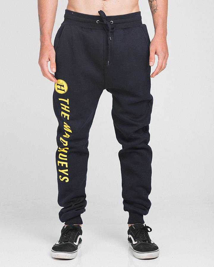 LOGO TRACKPANTS - NAVY