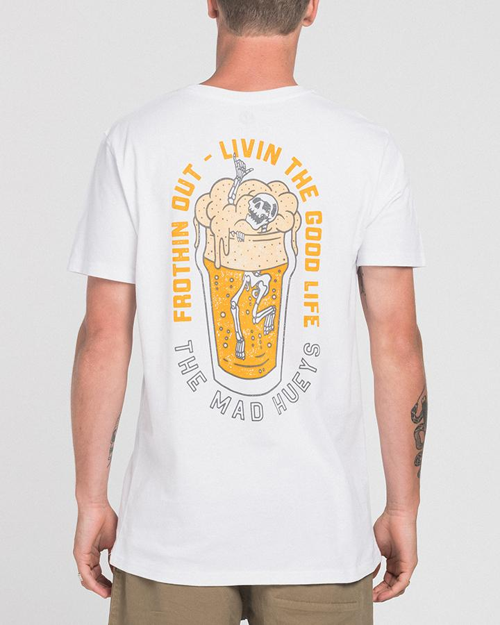 IN THE DRINK TEE WHITE