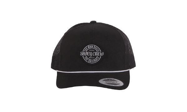 CREW TWILL TRUCKER BLACK