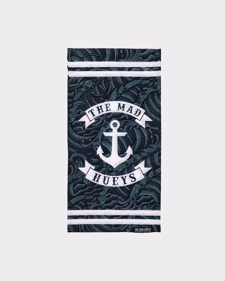ANCHOR DARK SEAS MULTISCARF - BLACK/WHITE
