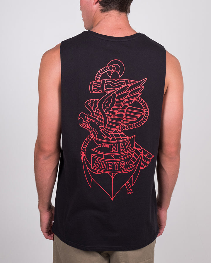 EAGLE ANCHOR MUSCLE - BLACK