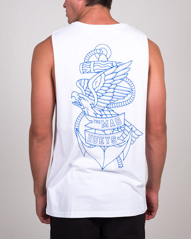 EAGLE ANCHOR MUSCLE - WHITE