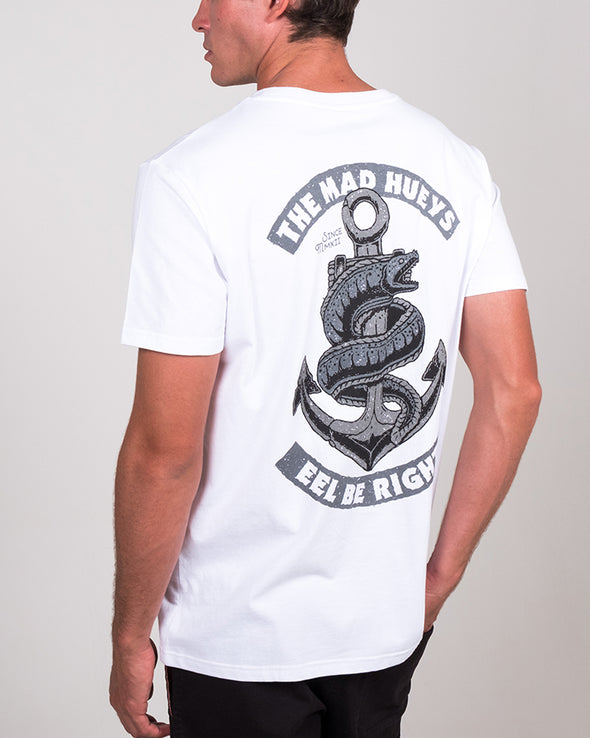 EEL BE RIGHT SS TEE - WHITE