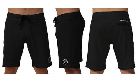 ESSENTIAL BOARDSHORTS WASHED BLACK