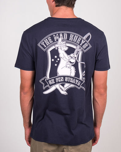 FISHING SKIPPY SS TEE - NAVY