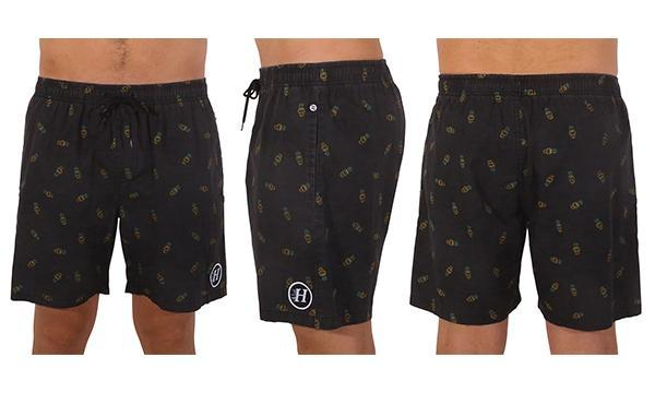 GOON POOLSHORTS BLACK