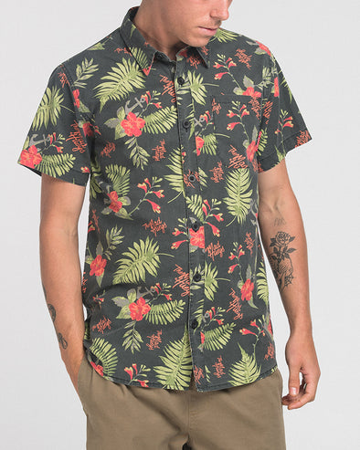 HUEY HOLIDAY SHORT SLEEVE SHIRT