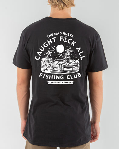 FK ALL SHORT SLEEVE TEE - BLACK/WHITE