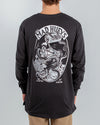 OCTOPISSED LONG SLEEVE TEE - BLACK
