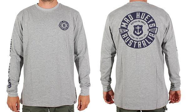 PROUDLY OWNED LONG SLEEVE GREY