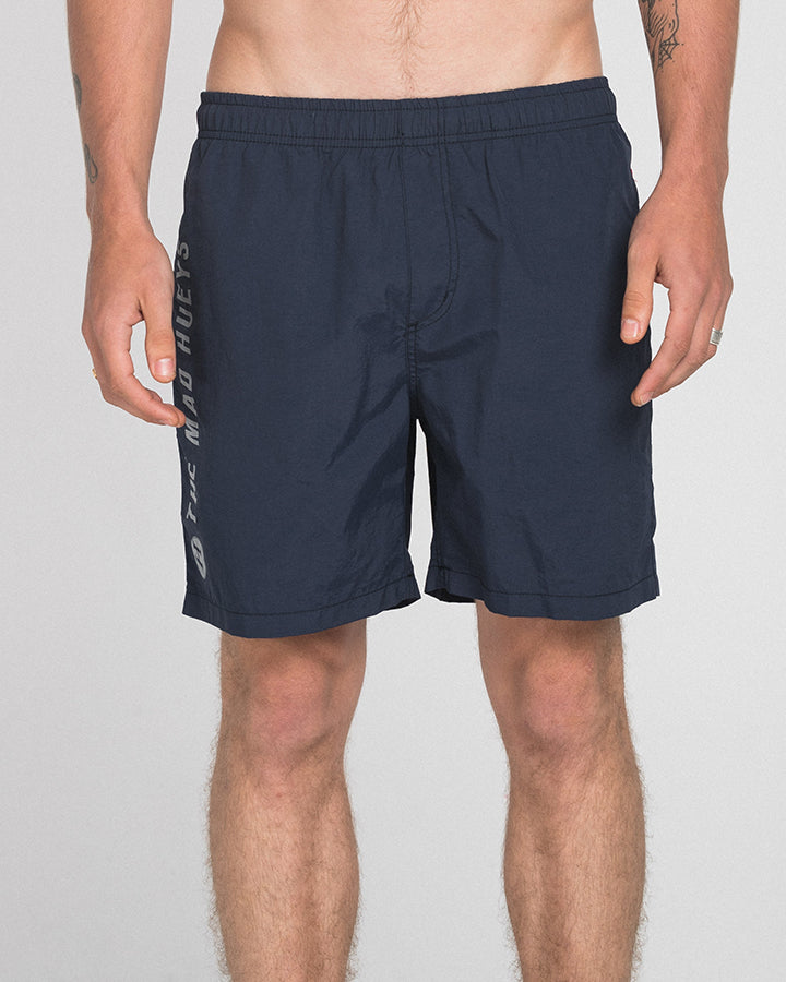 QUICKDRY LOUNGER POOLSHORT - NAVY