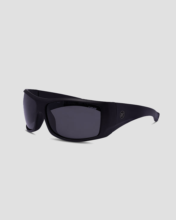 THE ROCKS SUNGLASSES - SMOKE POLAR FLOAT - MATTE BLACK