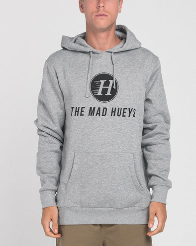 THE BASIC PULLOVER HOOD - GREY MARLE