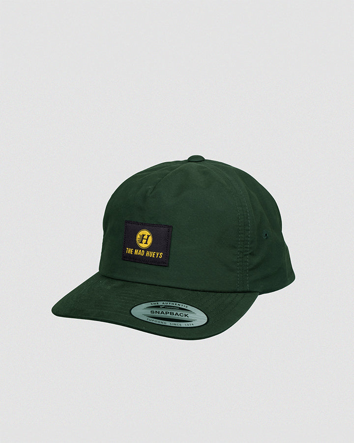 THE CAMPER STRAPBACK - DARK GREEN
