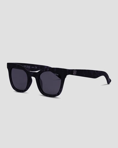 THE CRAB SUNGLASSES - SMOKE POLAR - BLACK/TORT