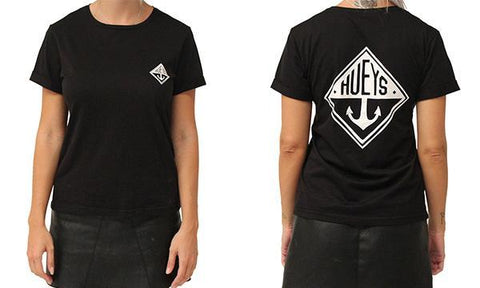 WOMENS TIMELESS TEE BLACK