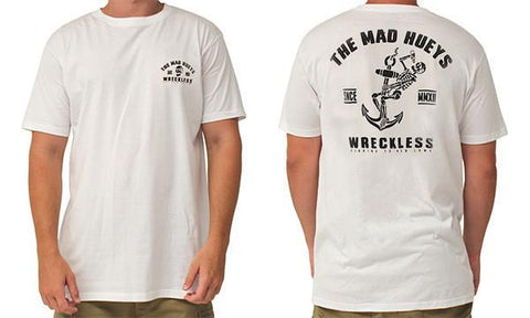 WRECKLESS TEE WHITE