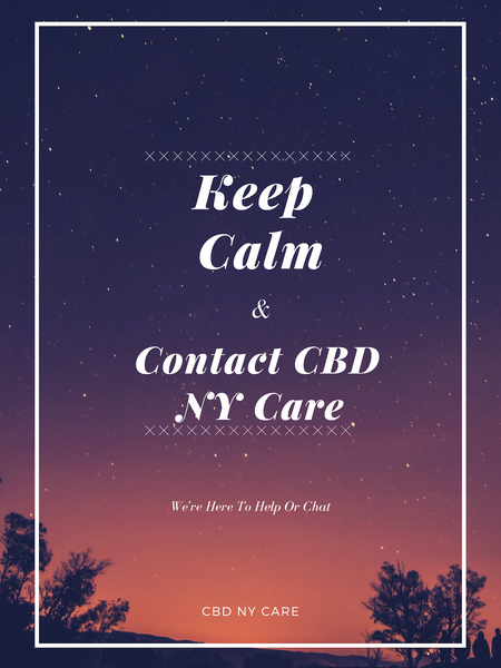 Contact CBD NY Care - CBD Oil, Vapes, Gummies, Tinctures