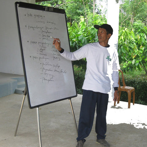 Darwis in Cocoa Carer Training