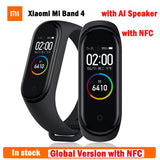 2019 Newest Original Xiaomi Mi Band 4 NFC Global Version Smart Wristband Mi Band 4 NFC Heart Rate Fitness Color Screen Wholesale