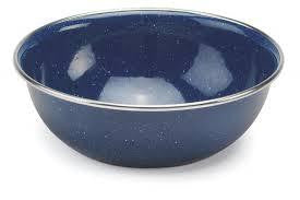 Yellowstone Enamel Camping Bowl