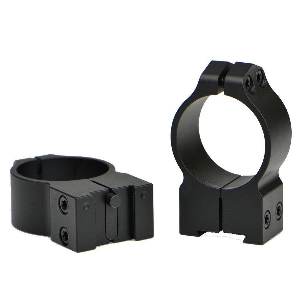 Warne Scope Mounts Maxima Series 15TM 30mm Tikka Fixed High Matte Rings