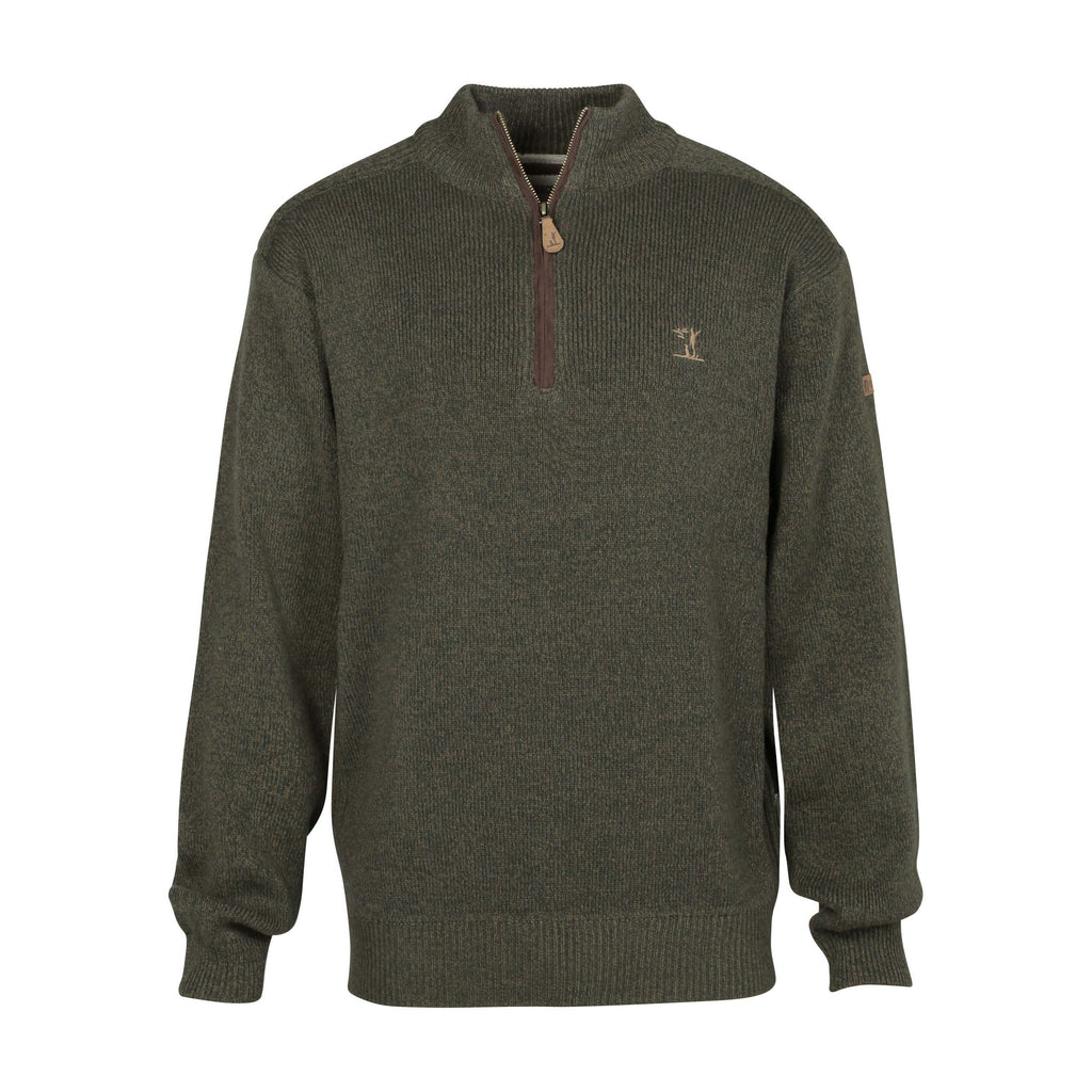 Percussion Half Zipped Hunting Sweater
