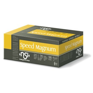 NSI Speed Magnum 20 gauge 36g Shotgun Shell