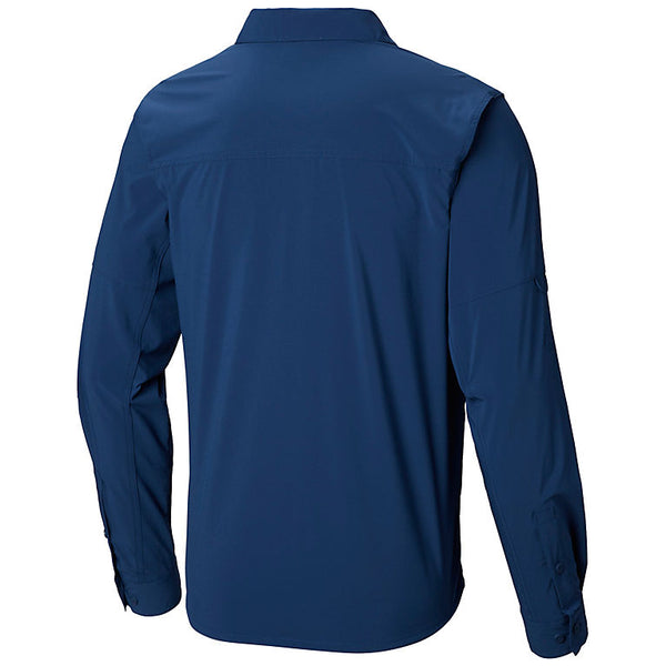 Columbia Mens Triple Canyon Solid Long Sleeve Shirt
