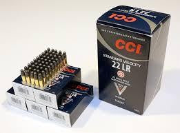 CCI .22LR Standard Velocity 40 gr Lead Hollow Point