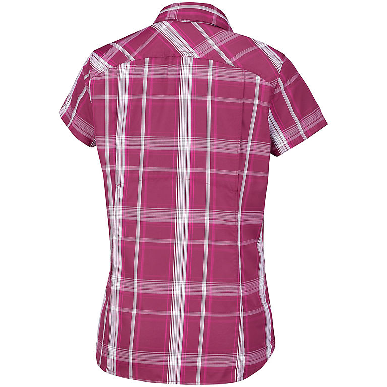 Columbia Womens Silver Ridge 2.0 Plaid Short Sleeve