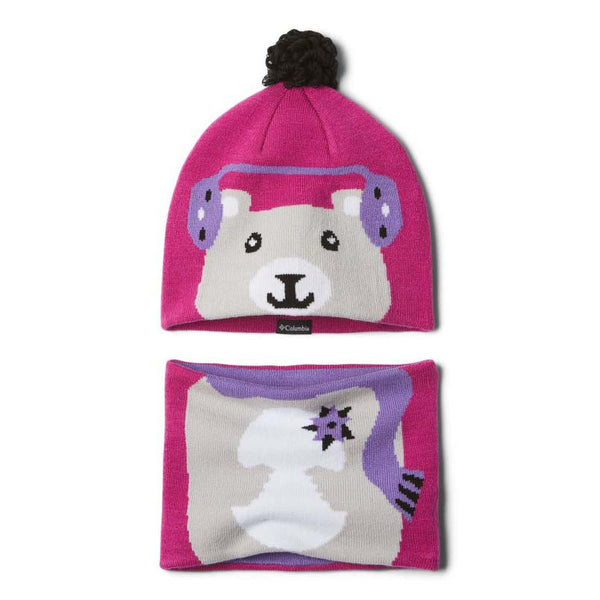 Columbia Toddler Snow More Beanie and Gaiter Set